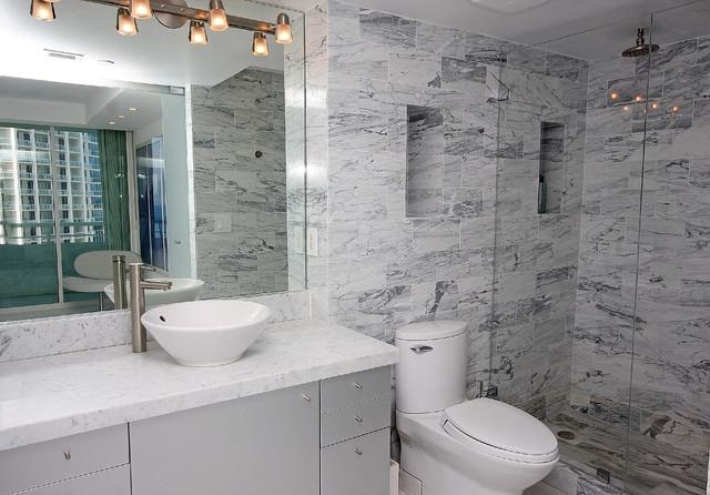 EZNICHES Bathroom Shampoo Soap Recess Shelf Wall Niche