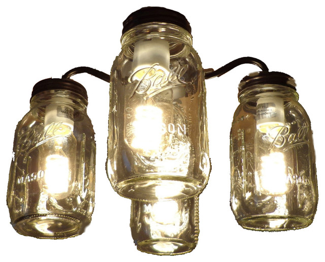 ceiling fan light kits esp door entry wiring diagram mason jar kit new quart jars farmhouse accessories by the lamp goods