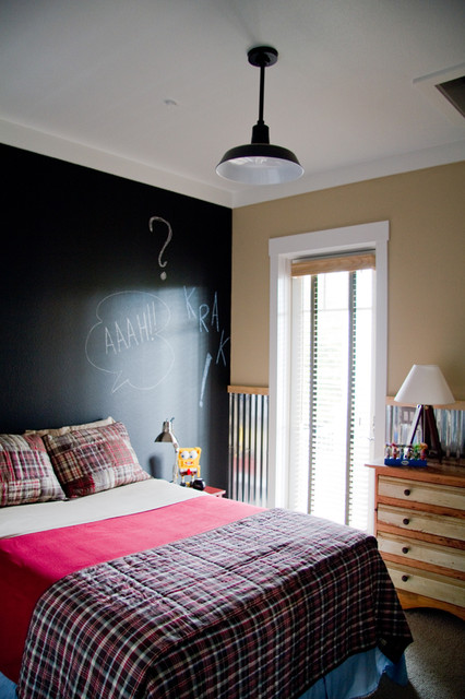 The Vision House Orlando  Boys Bedroom  Industrial  Bedroom  Tampa  by Barn Light USA