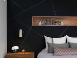 contemporary-bedroom Stylish Feature Walls Star in the Most Popular Bedrooms  upholstery in clapham junction