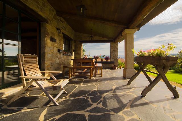 Porches De Casas Rusticas Awesome Disea Tus Espacios Con