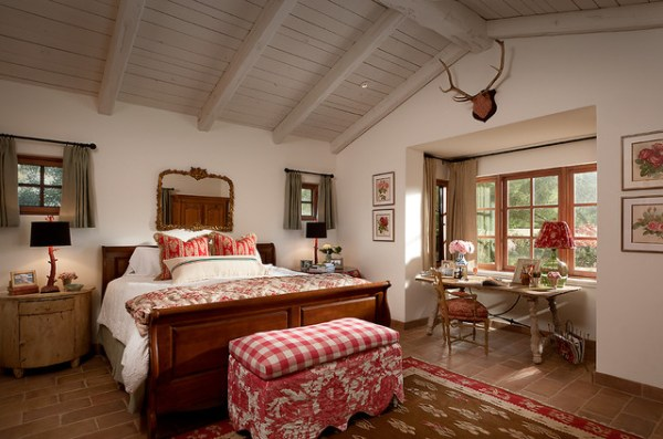 french country home bedroom French Country Estate - Mediterranean - Bedroom - Phoenix