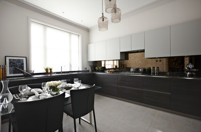 The Hampstead Apartment contemporary-kitchen