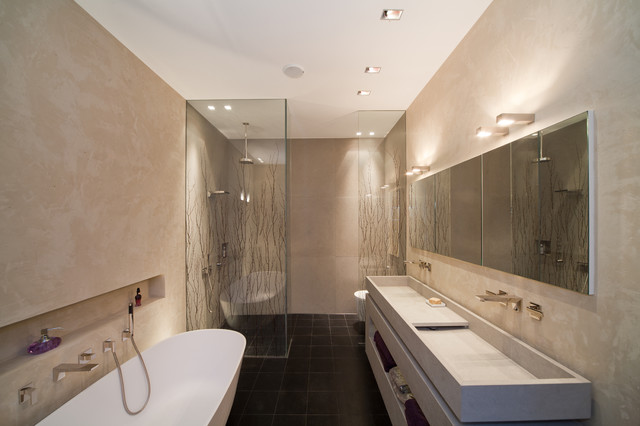 Mineralputz Badezimmer