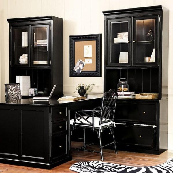 ballard home office design Ballard Designs Tuscan Return Office Group - Large - Contemporary - Bookcases - by Ballard Designs