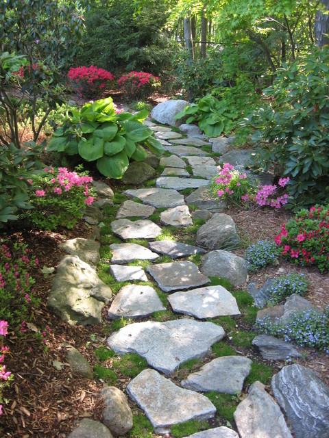 stepping stone walkway garden path