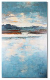 """Jade Lake"" Magari Art Piece"