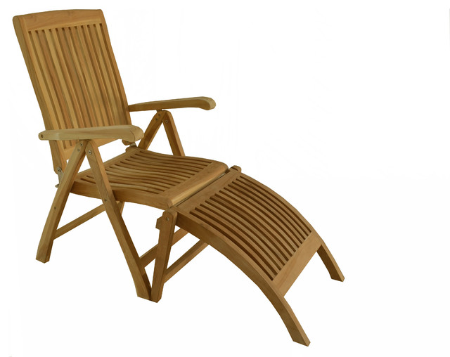 teak outdoor dining chair marley reclining folding arm chair with footrest
