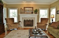 Family Room with Tuscan Flair - Traditional - Family Room ...