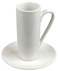 Latte Macchiato Cups and Saucers, Set of 2 - Traditional ...