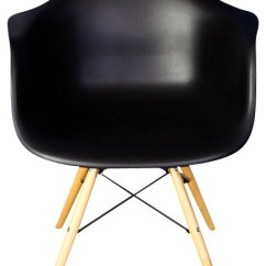 Mid Century Modern Plastic Chairs Revolving Chair For Sale In Lahore Daw Black Dining Armchair Wood Eiffel Legs Midcentury By Emodern Decor