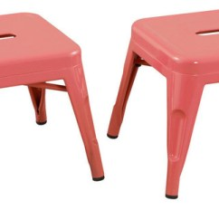 Pink Kids Chair Outdoor Canvas Covers Nz Stools By Reservation Seating Set Of 2 Chairs Ace Casual Furniture