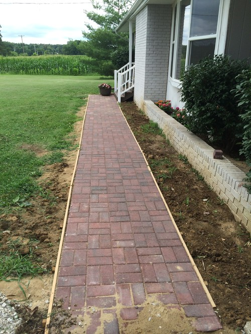 ideas with landscaping brick