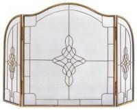 Art Deco Fireplace Screen - Transitional - Fireplace ...
