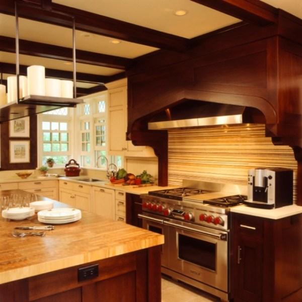 tudor style kitchen Updated Tudor Modern Kitchen - Contemporary - Kitchen - minneapolis - by Andrew Flesher Interiors