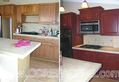 Kitchen Cabinet Refacing Half Moon Bay