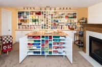 Quilt Studio - Traditional - Home Office - Other - by Home ...