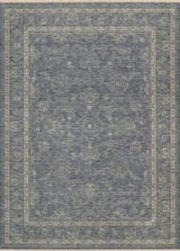 Elegance Dusty Blue/Beige Rug - Traditional - Area Rugs ...