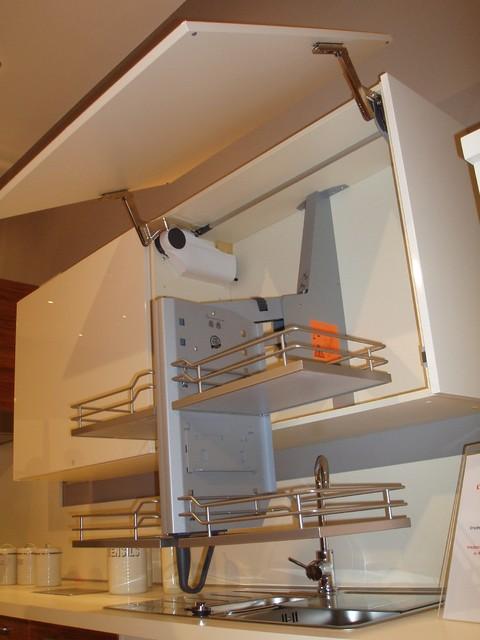 PullDown Shelves  Modern  Kitchen  toronto  by SVEA