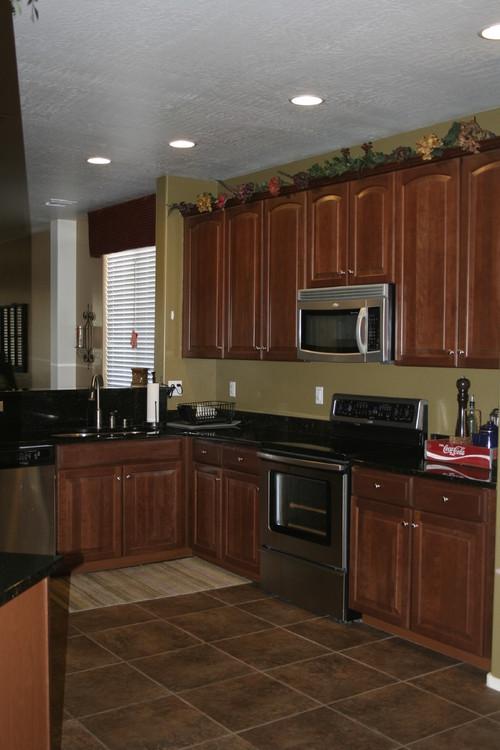 Brighten my dark kitchen