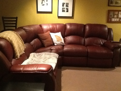 taupe color leather sofa art van slipcovers wall colors for a burgundy