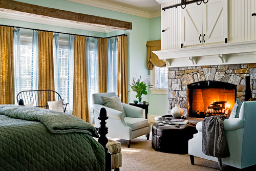Fireplaces and feng shui wellness decor for Feng shui fireplace in bedroom