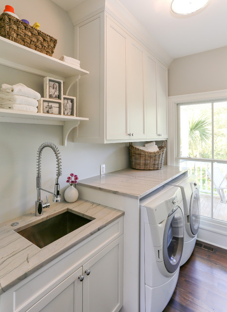 HWC Folly Kitchen Traditional Laundry Room San Francisco By