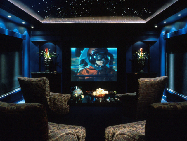 Teen Bedroom Diagram Home Theater Modern Home Theater Orlando By The