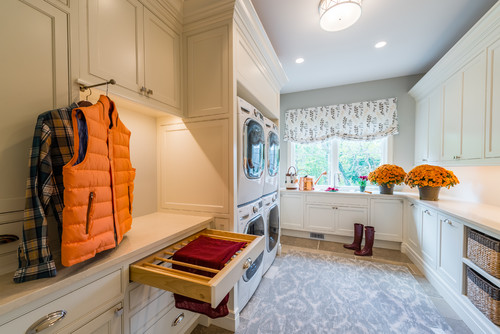 Catawba Island Lakefront Home, Mud Room & Laundry Room