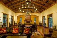Rustic Hacienda Style Texas Ranch - Southwestern - Living ...