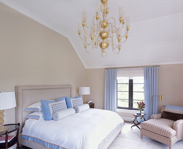 tete a chair outdoor used barber for sale hampton beach house - style bedroom new york by stephens design group, inc.