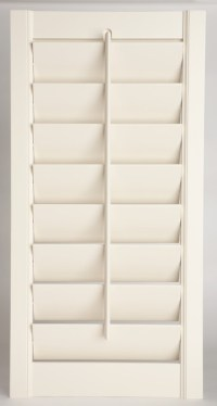 New England design shutters - Traditional - Interior ...