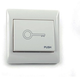 Aleko Lm147 Wired Push Button For Any Garage Door Opener  Contemporary  Garage Doors And