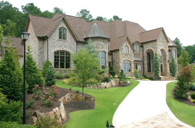 Luxury European Style Homes Traditional Exterior Atlanta