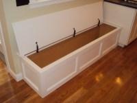 Built-in bench storage - Traditional - Kitchen - Boston ...