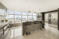 Luxury London Penthouse Apartment - Contemporary - Kitchen ...