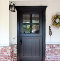 Craftsman Dutch Door - Transitional - Exterior - San ...