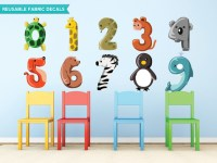 Number Wall Decals - popular items for kids wall decal on ...