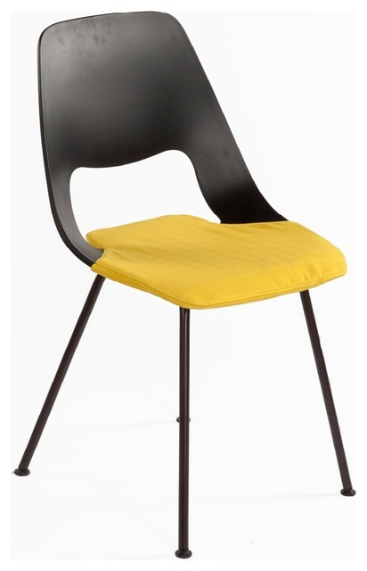 Turo Side Chair Yellow  Contemporary  Armchairs And