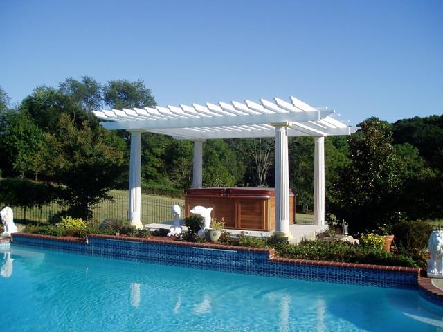 PergolaGazebo  Traditional  Pool  Baltimore  by