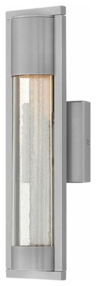 Hinkley Lighting 1220 Mist Small Outdoor Wall Sconce ...