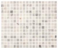 "12""x12"" Aspen White Marble Square Tile - Contemporary ..."