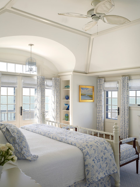 Nautical House on the Bay  Hamptons  Beach Style