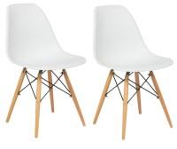 BTExpert - Midcentury Modern Natural Wood Leg Side Dining ...