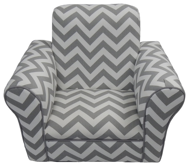 pink toddler rocking chair fluffy rocker chevron contemporary kids chairs by fun furnishings