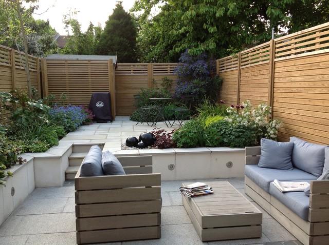 Split Level Courtyard Garden