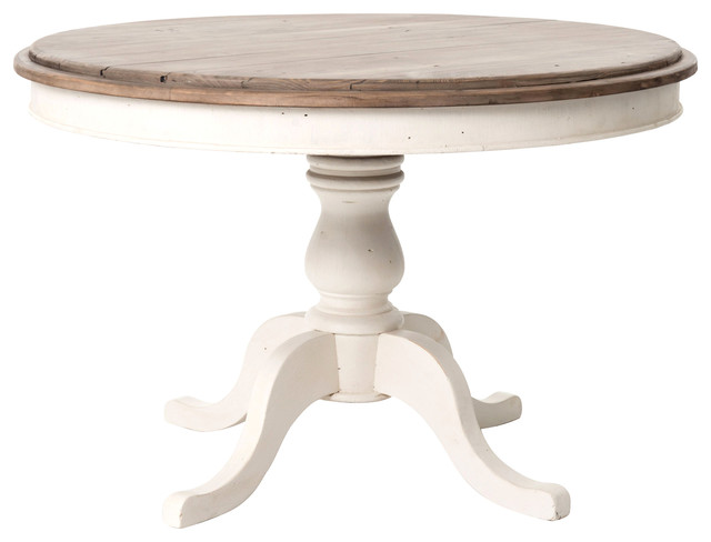 photos balzac round dining table farmhouse dining tables