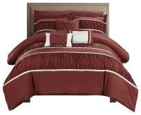 Cheryl 10 Piece Comforter Set - Transitional - Comforters ...