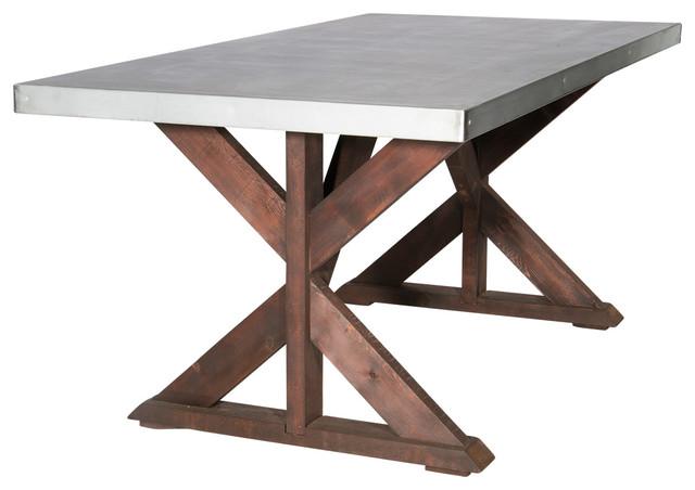 Zinc Simply Elegant Table