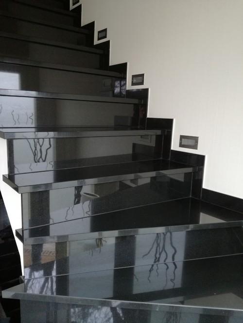 Granit Treppen traumhaft anzuwenden im Innen und